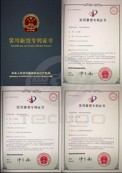 热烈祝贺德克沃蒸汽热源机获得多项国家专利