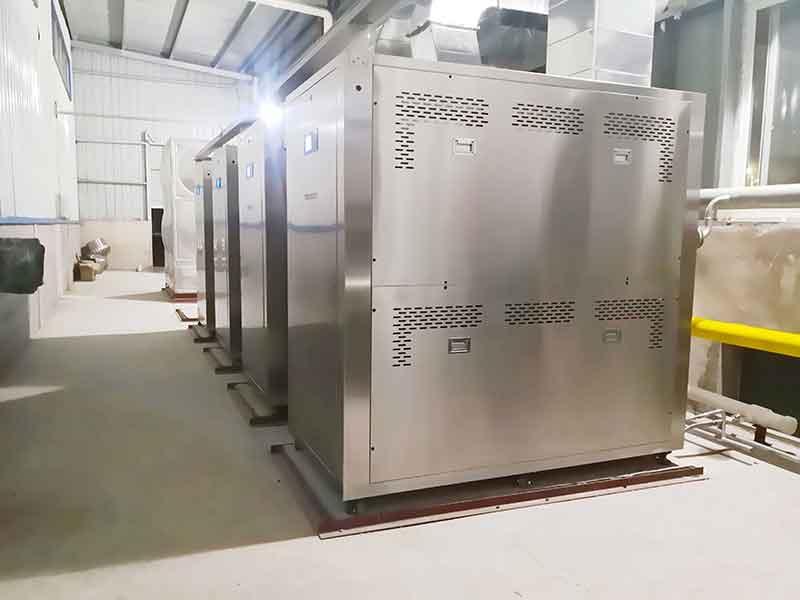 安徽某药业7吨设备稳定运行9603小时,复购3台TEC-1.0T超低氮蒸汽热源一体机