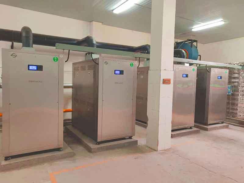 新都区冠生园食品改造4台超低氮蒸汽发生器
