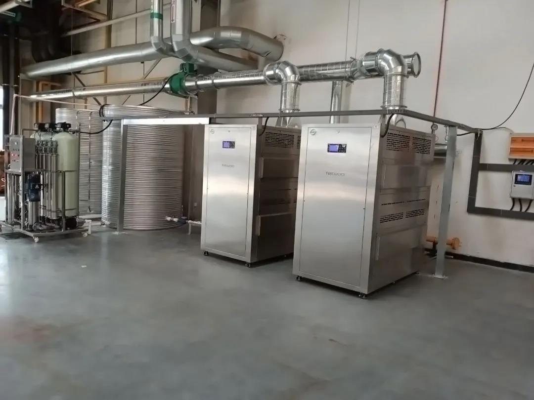 长城汽车集团徐水哈弗公司 蒸汽热源机项目成功运行 进入高效节能时代